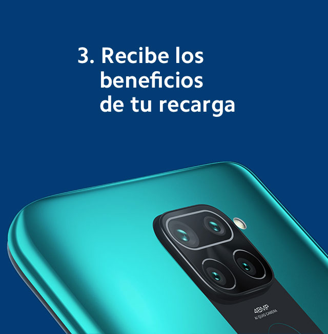recarga Telcel paso 3