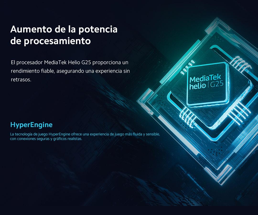 procesador MediaTek Helio G25