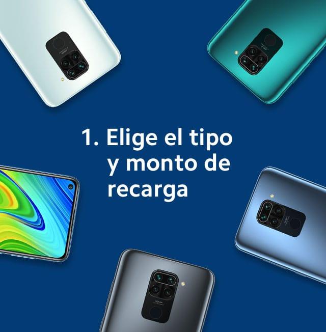 recarga Telcel paso 1