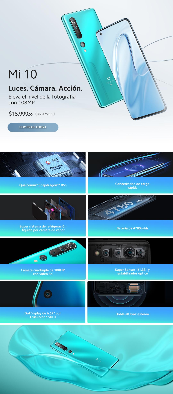 Xiaomi  Mi 10 en la tienda Oficial de Xiaomi 001