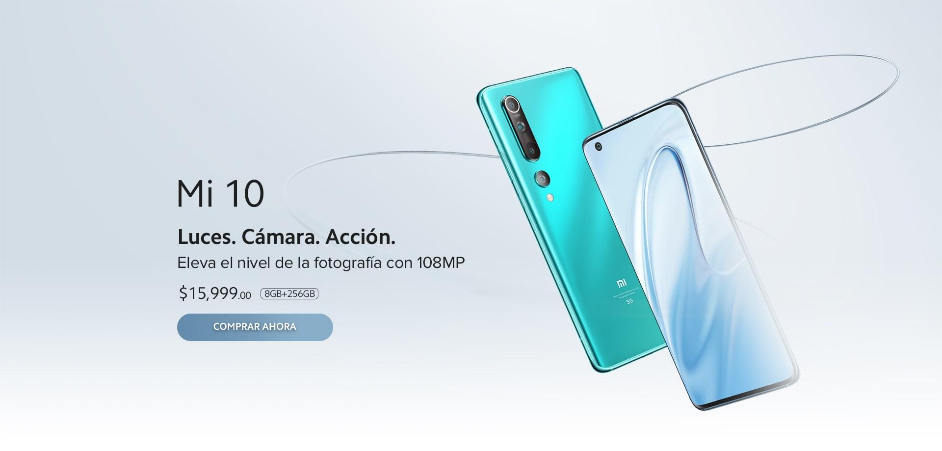 Xiaomi Mi 10 en la tienda Oficial de Xiaomi